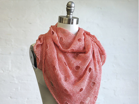 Holey Square Shawl